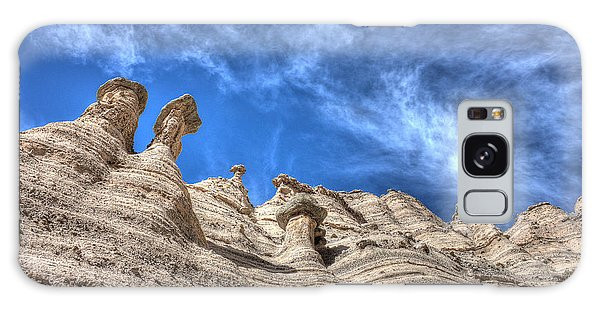 Tent Rocks No. 1 Galaxy Case