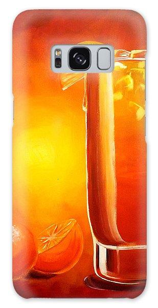 Tequila Sunrise Galaxy Case by Darren Robinson