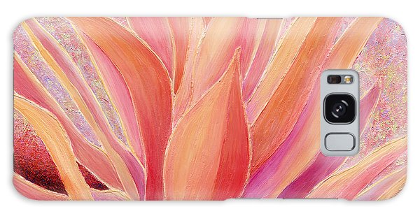 Tequila Sunrise Galaxy Case by Sandi Whetzel