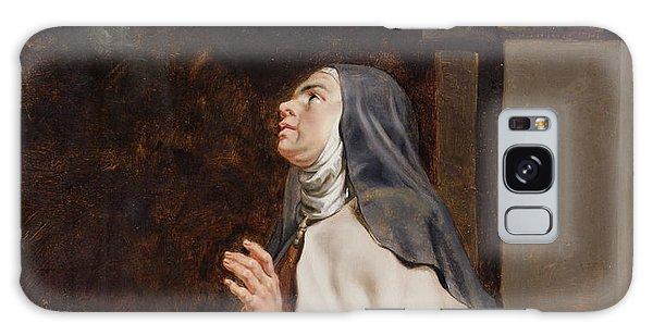 Teresa Of Avilas Vision Of A Dove Galaxy Case