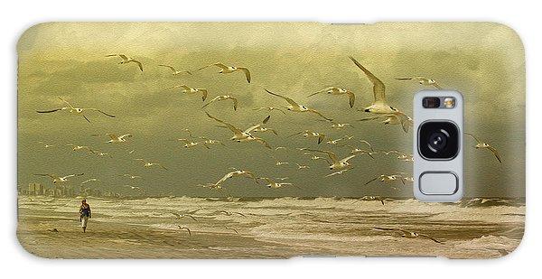 Terns In The Clouds Galaxy Case