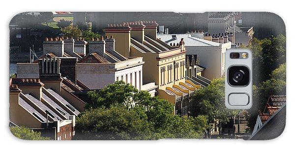 Terrace Houses In The Rocks Area Of Sydney Galaxy Case