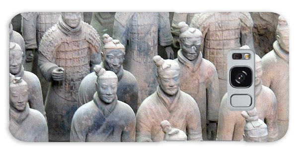 Terracotta Warriors Galaxy Case by Kay Gilley