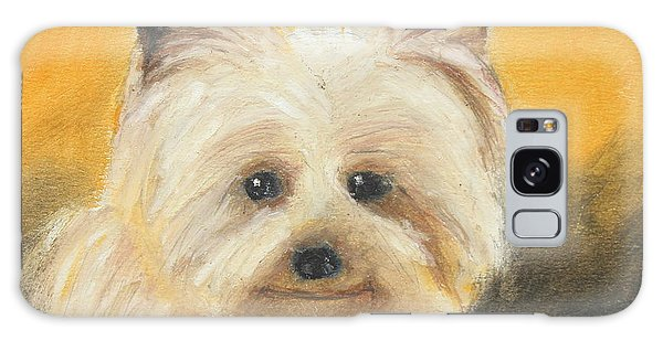 Terrier Galaxy Case by Jeanne Fischer