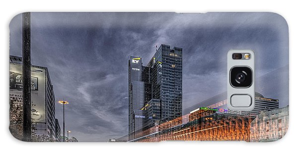 Terrific Warsaw With Zoom Perspective From Jerozolimskie To Rondo One Galaxy Case