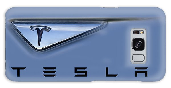 Tesla Model S Galaxy Case by David Millenheft