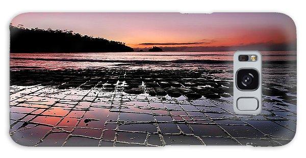 Tesselated Pavement Sunrise Galaxy Case