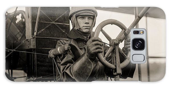 Pilot Galaxy Case - Test Of A Curtiss Plane Circa 1912 by Aged Pixel