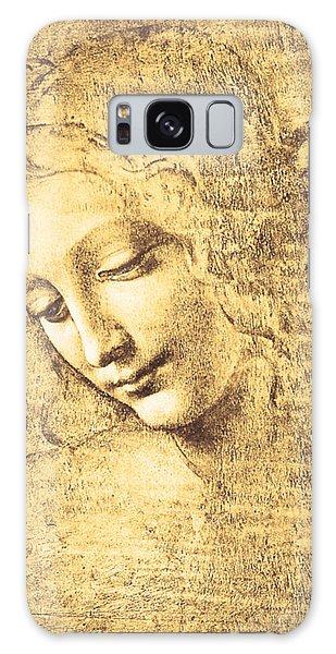 Testa Di Fanciulla Detta La Scapigliata Galaxy Case by Leonardo Da Vinci