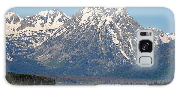 Teton Lake Galaxy Case