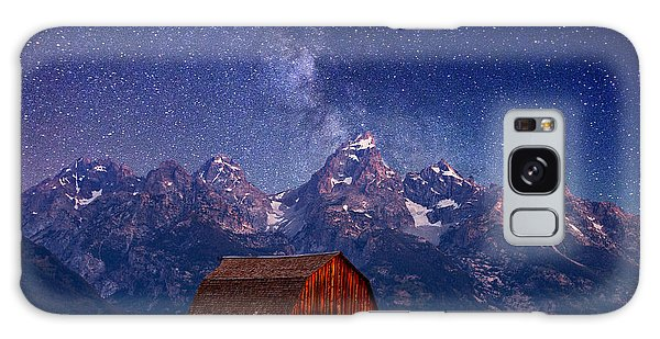 Teton Nights Galaxy Case by Darren  White