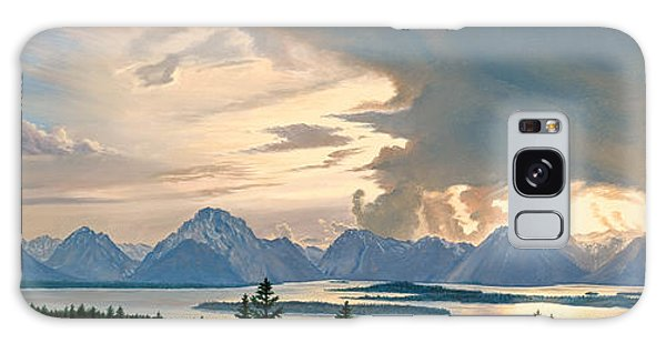 Teton Galaxy Case - Teton Range From Signal Mountain by Paul Krapf