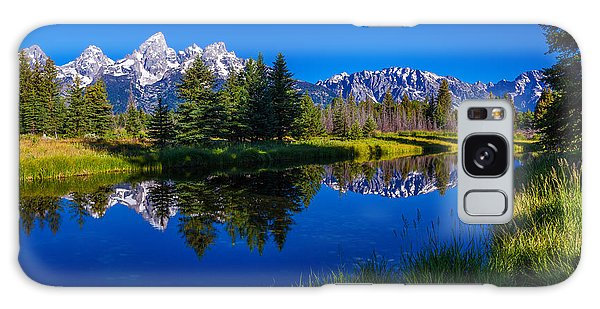 Teton Reflection Galaxy Case by Chad Dutson