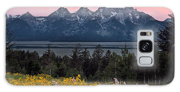 Teton Galaxy Case - Teton Spring by Leland D Howard