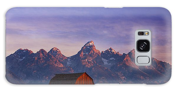 Teton Sunrise Galaxy Case