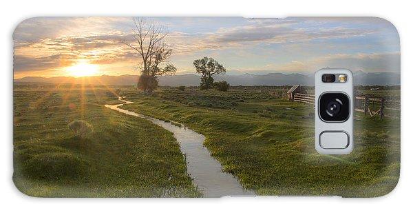 Teton Valley Morning Galaxy Case