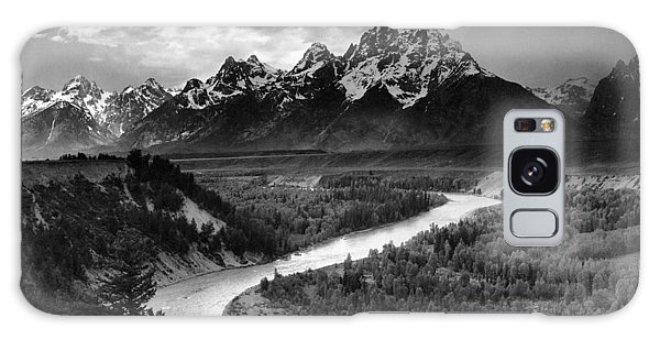 Teton Galaxy Case - Tetons And The Snake River by Ansel Adams
