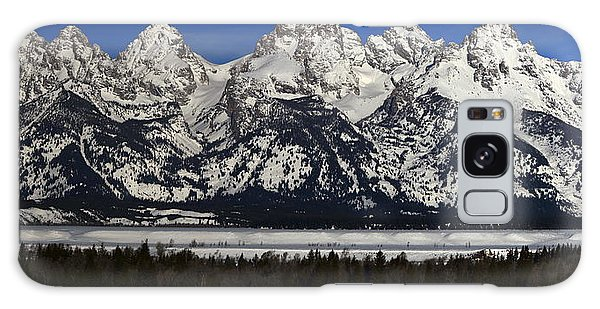 Tetons From Glacier View Overlook Galaxy Case