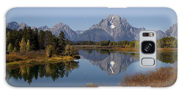 Tetons Mount Moran Morning Galaxy Case