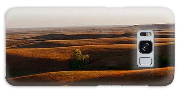 Texaco Hill Sunset Galaxy Case by Thomas Bomstad