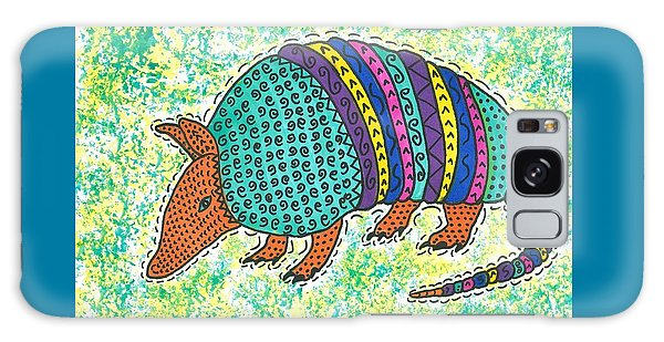 Texas Armadillo Galaxy Case by Susie Weber