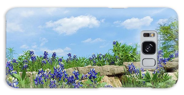 Texas Bluebonnets 08 Galaxy Case