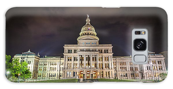 Texas Capitol Building Galaxy Case