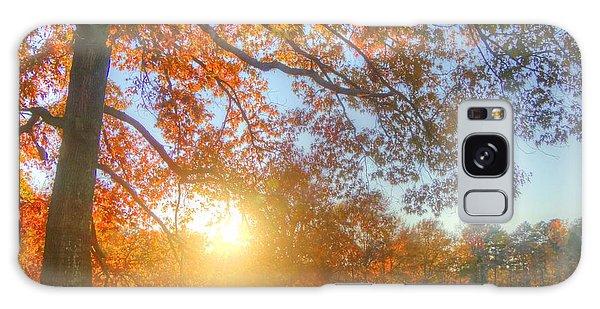 Texas Fall Colors 002 Galaxy Case