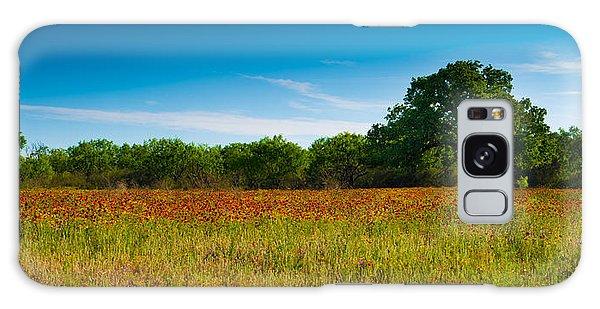Texas Hill Country Meadow Galaxy Case by Darryl Dalton