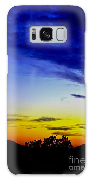 Texas Hill Country Sunset Galaxy Case