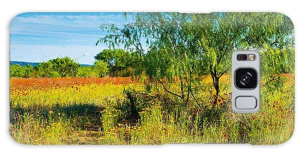 Texas Hill Country Wildflowers Galaxy Case by Darryl Dalton