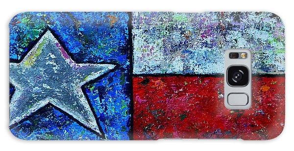 Texas In Color Galaxy Case
