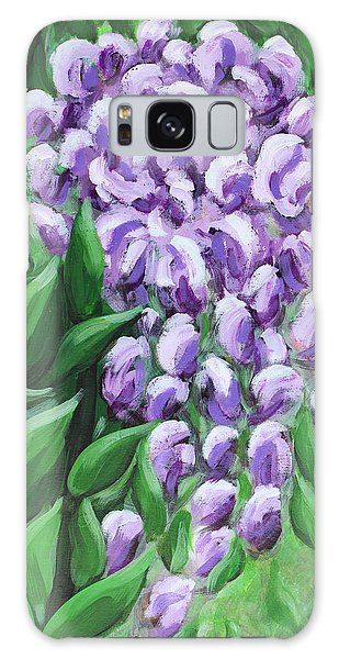 Texas Mountain Laurel Galaxy Case