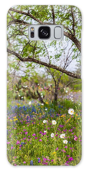 Texas Roadside Wildflowers 732 Galaxy Case