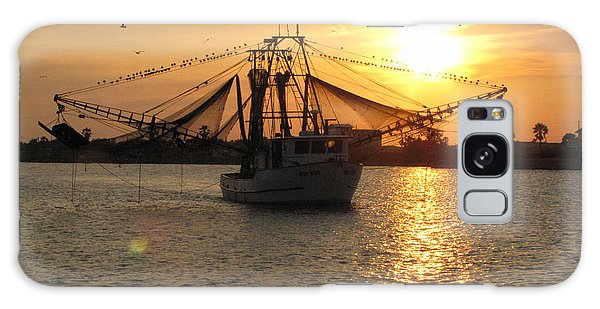 Texas Shrimp Boat  Galaxy Case