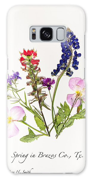 Texas Spring Flowers Galaxy Case