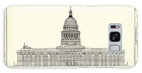 Texas State Capitol Architectural Design Galaxy Case