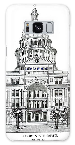 Texas State Capitol Galaxy Case