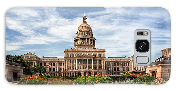 Texas State Capitol II Galaxy Case by Joan Carroll