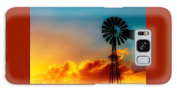 Texas Sunrise Galaxy Case by Darryl Dalton