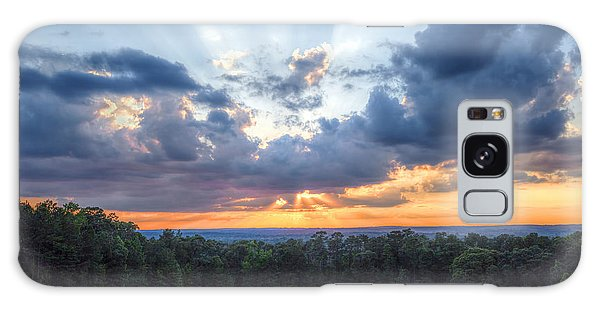 Texas Sunset As Seen From Louisiana Galaxy Case