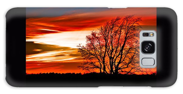 Texas Sunset Galaxy Case by Darryl Dalton