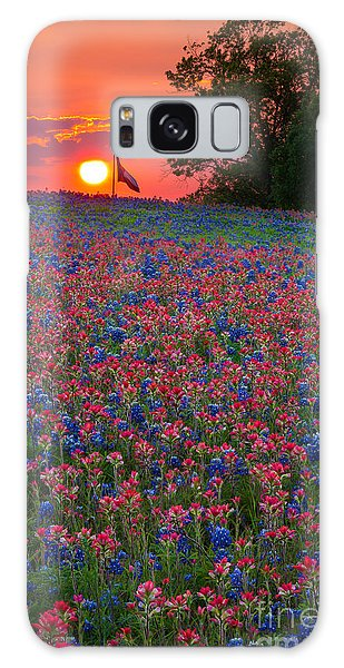 Expanse Galaxy Case - Texas Sunset by Inge Johnsson