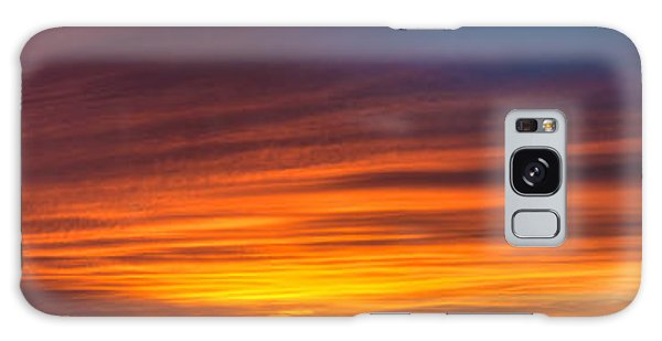 Texas Sunset Panorama Galaxy Case