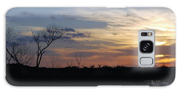 Texas Sunset Galaxy Case