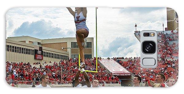 Galaxy Case featuring the photograph Texas Tech Cheerleaders by Mae Wertz