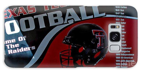 Galaxy Case featuring the photograph Texas Tech Football History Chart by Mae Wertz