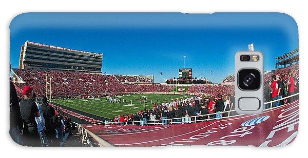 Galaxy Case featuring the photograph Texas Tech University Jones Stadium by Mae Wertz