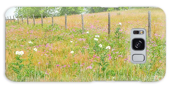 Texas Wildflowers II Galaxy Case