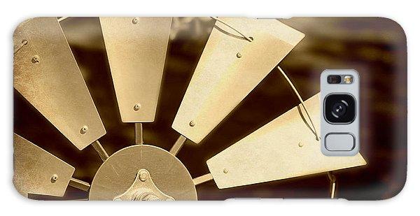 Texas Windmill Galaxy Case by Elizabeth Budd